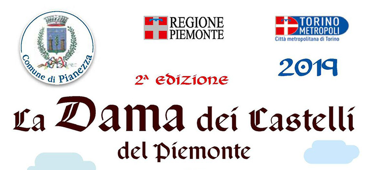 La Dama dei castelli del Piemonte