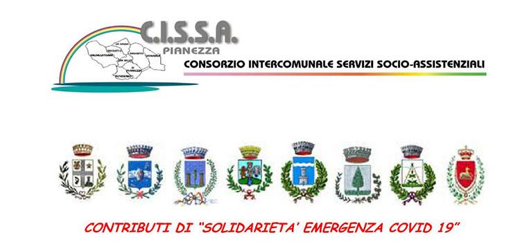 """Contributi di """"SOLIDARIETA' EMERGENZA COVID 19"""""""