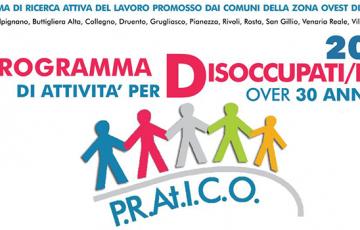 PROGETTO P.R.At.I.C.O. Programma di attivita' per disoccupati/e over 30 anni per il 2021