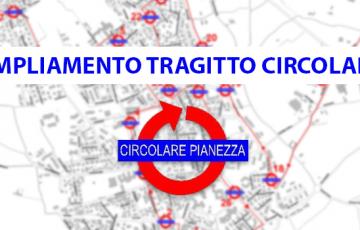 """Ampliamento Tragitto """"Circolare"""" Pianezza"""